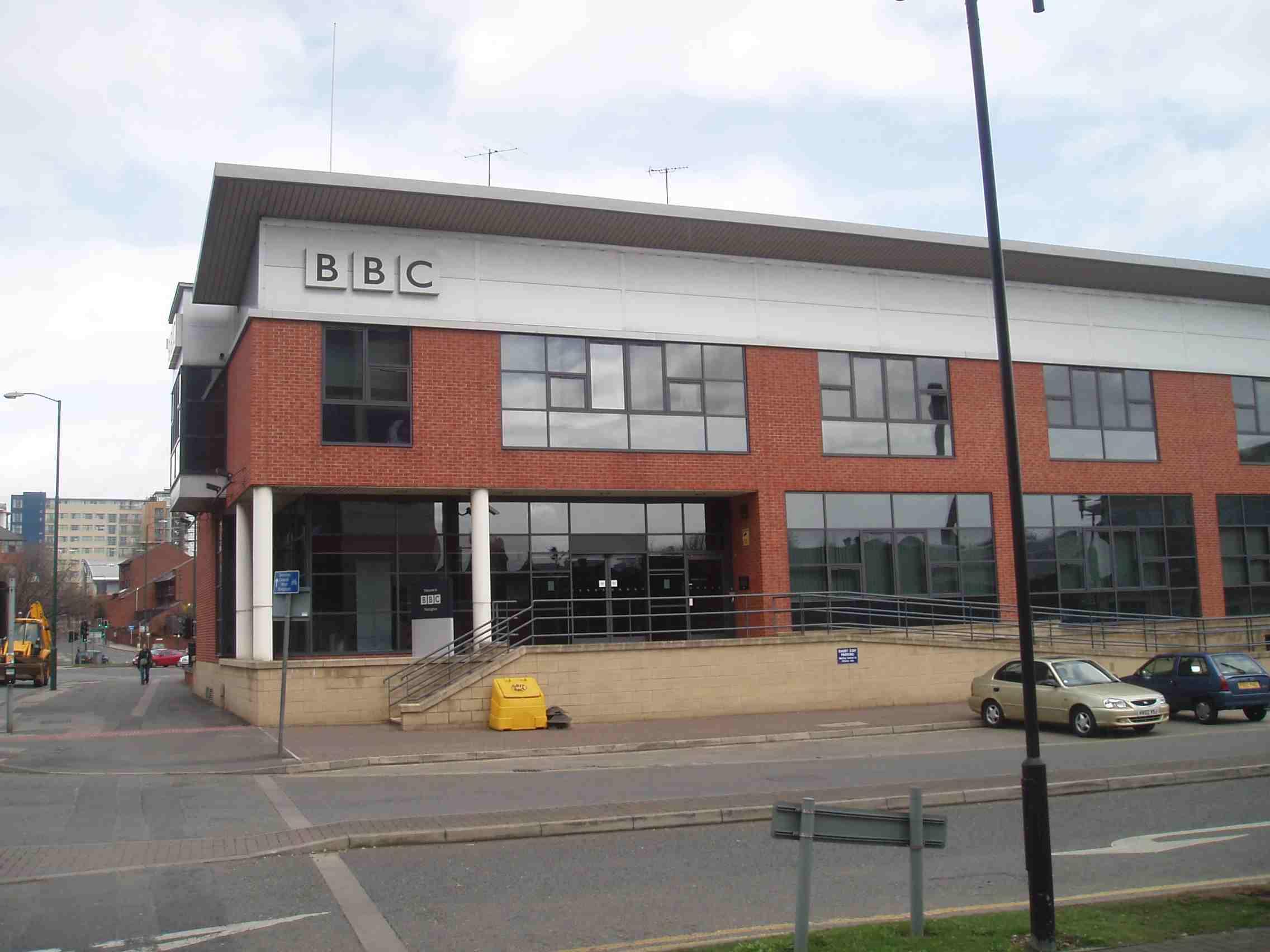 BBC studios in Nottingham