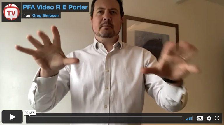 Greg Simpson - Press For Attention - R E Porter your VIP Customer