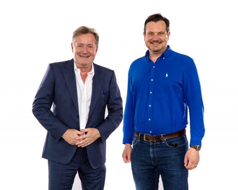 Piers Morgan and Greg Simpson