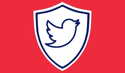 Twitter - Blue tweeter badge